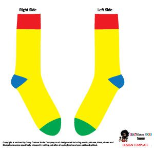 Sock Design Template